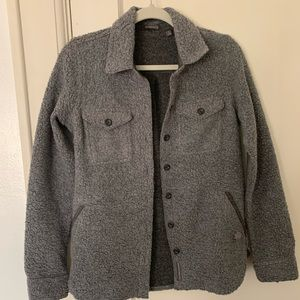 Toad and Co Telluride wool Sherpa shirt jac